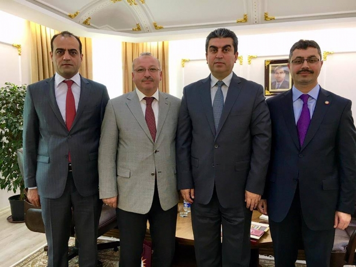Ronaki Duhok Ishik School committee has visited Ferhad Atroshi the Governor of Duhok